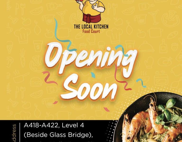 Time City မှာ မကြာမီ ဖွင့်လှစ်တော့မယ့် The Local Kitchen Food Court ရဲ့အတန်ဆုံး Promotion အစီအစဉ်