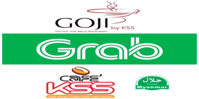 Cafe' KSS ရဲ့ Free Delivery With GRABFOOD